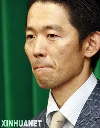 8月1日,日本农林水产大臣赤城德彦在东京就正式辞去大臣职务举行新闻发布会。当天,日本首相安倍晋三接受了赤城德彦递交的辞呈。 新华社记者任正来摄