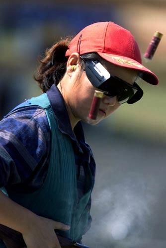 图文:1984-1996现役奥运冠军 张山当代花木兰