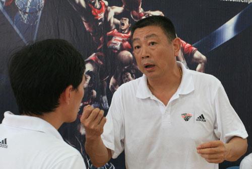 武汉赛区裁判长陈友清