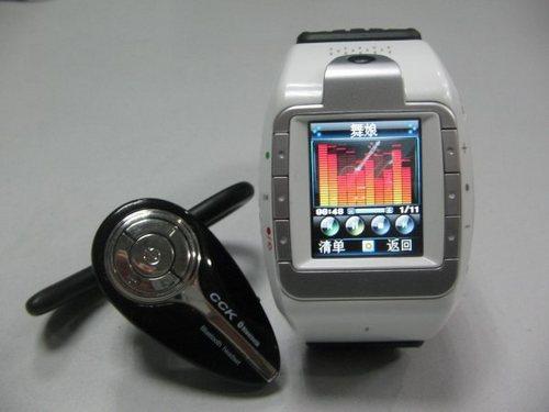 特工用品 CECT摄像视频多媒体腕表面世