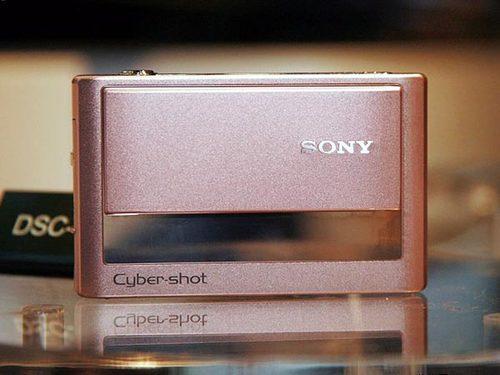 超靓防抖卡片相机 索尼T20送1GB卡套装