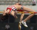 图文:[田径]全国田径赛女子跳高 顾璇优雅过杆