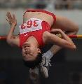 图文:[田径]全国田径赛女子跳高 赵玮夺得金牌