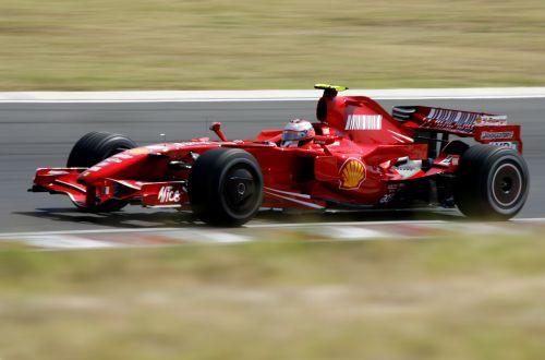 图文:[F1]匈牙利站次回练习 莱科宁极速前行