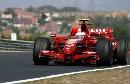 图文:[F1]匈牙利站次回练习 莱科宁走外线