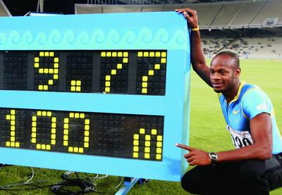 鲍威尔的世界纪录