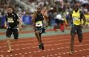 图文:伦敦田径大奖赛 盖伊男子100米摘得金牌