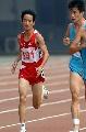 图文;全国田径锦标赛 董建国在5000米比赛中