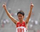 图文;全国田径锦标赛 云南董建国5000米夺冠