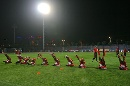 图文:[四国赛]国奥备战中朝战 队员苦练体能