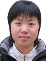 中国皮划艇队队员朱敏园