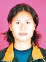中国皮划艇队队员徐琳蓓