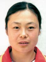 中国皮划艇队队员张金梅