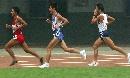 图文:全国锦标赛 男子10000米铿锵三人行