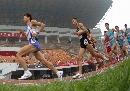 图文:全国锦标赛 万米跑运动员特写