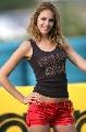 图文:[F1]匈牙利大奖赛美女 性感的身材
