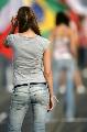 图文:[F1]匈牙利大奖赛美女 美女穿便装