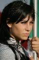 图文:[F1]匈牙利大奖赛美女 表情格外严肃