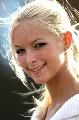 图文:[F1]匈牙利大奖赛美女 露出可爱的微笑