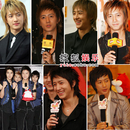 从2006年4月到2007年7月,韩庚七次接受搜狐采访