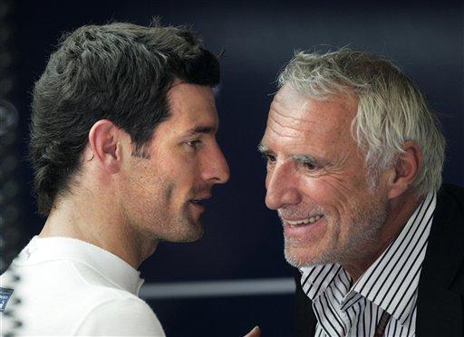 图文:[F1]匈牙利大奖赛正赛 红牛车手韦伯