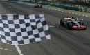 图文:[F1]匈牙利大奖赛正赛 率先看到黑白格旗