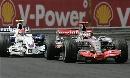 图文:[F1]匈牙利大奖赛正赛 阿隆索被追赶