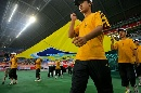 图文:[四国赛]国奥0-1朝鲜 国际足联一马当先