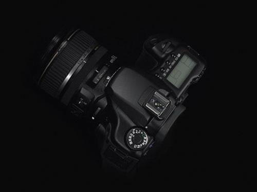 再报猛料 国外曝佳能40D单反相机照片