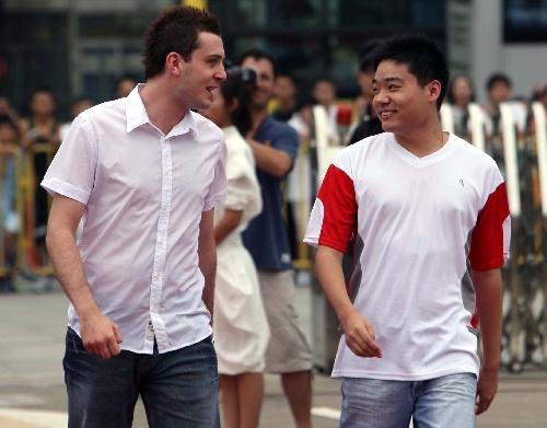双子星座:塞尔比(左)和丁俊晖