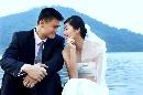 图文:姚明叶莉上海完婚 幸福婚纱照曝光
