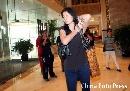 图文:姚明与叶莉完婚 女主角叶莉来到婚礼现场