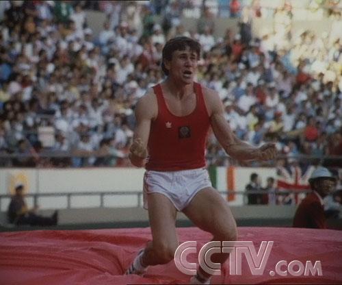 图文:CCTV《同一个梦想》 前苏联奥运会运动员