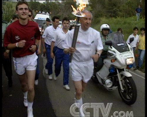 图文:CCTV《同一个梦想》 1992年巴塞罗那奥运