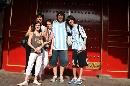 图文:奥运家庭游北京 阿根廷一家人的全家福