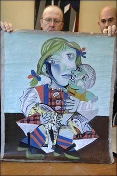 3幅毕加索名画被寻回 总价值达5000万欧元