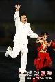 图:奥运倒计时晚会现场 成龙亮相
