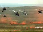 直升机对预定靶区目标攻击