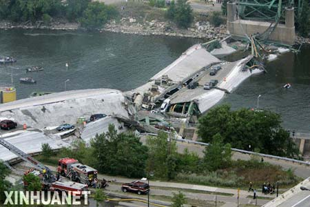 美国 大桥坍塌谁之过