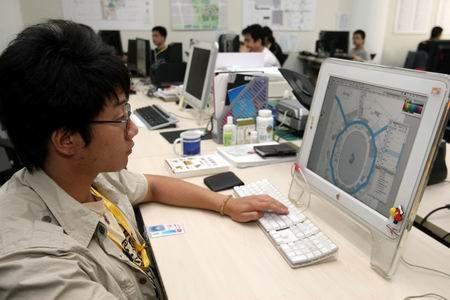 图文:探访开闭幕式运营中心 技术制作团队