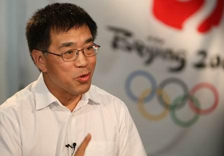 图文:探访开闭幕式运营中心 王宁接受采访