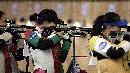 图文:奥运会射击选拔赛北京开赛 杜丽参加比赛
