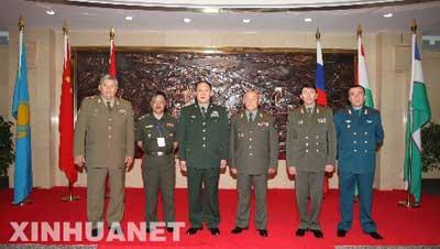 上合组织成员国武装总长战略磋商