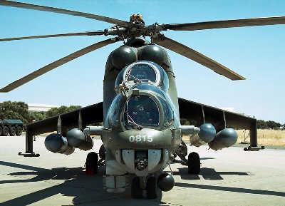 """米—24""""母鹿""""武装直升机"""