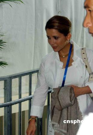 图文:08马术测试赛香港开赛 约旦哈雅公主出席