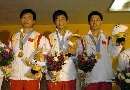 图文:大运会射击赛 中国男子50米步枪团体夺金