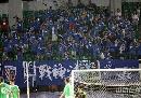 图文:[中超]北京2-3申花 蓝魔现场助威