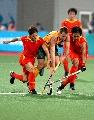 图文:曲棍球邀请赛澳大利亚男队夺冠 积极拼争