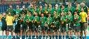 图文:曲棍球邀请赛澳大利亚男队夺冠 颁奖仪式