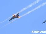 中方作战飞机对地面实施攻击
